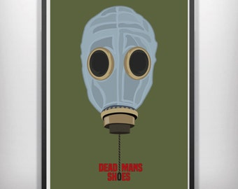 Dead mans shoes minimalist movie poster