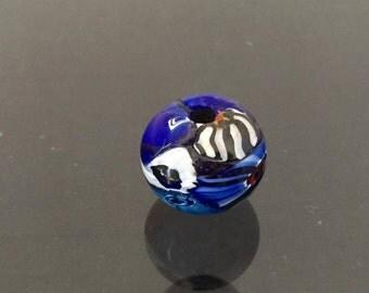 Vintage Multi Color Glass Bead Charm Pendant Loose Gemstones