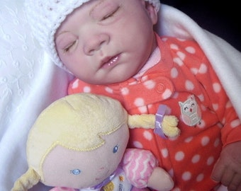 Gena Reborn Custom Doll by Michelle Fagan Little Darlins Nursery Rita Meese artist