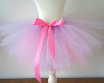 Girls Tutu - Lilac and Pink Tutu - Light Purple - Light Pink