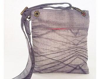 gift for her,grey crossbody bag,black crossbody purse,travel crossbody bag,unique crossbody bag,crossbody purse,handmade crossbody bag,