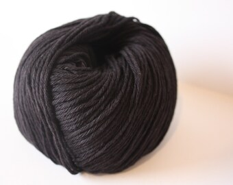 Coastal 8 - 8ply Lambswool/Cotton Blend Col: 031 Black