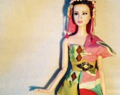 HautePoppet casual couture 50's style sari set for barbie/fashion royalty dolls