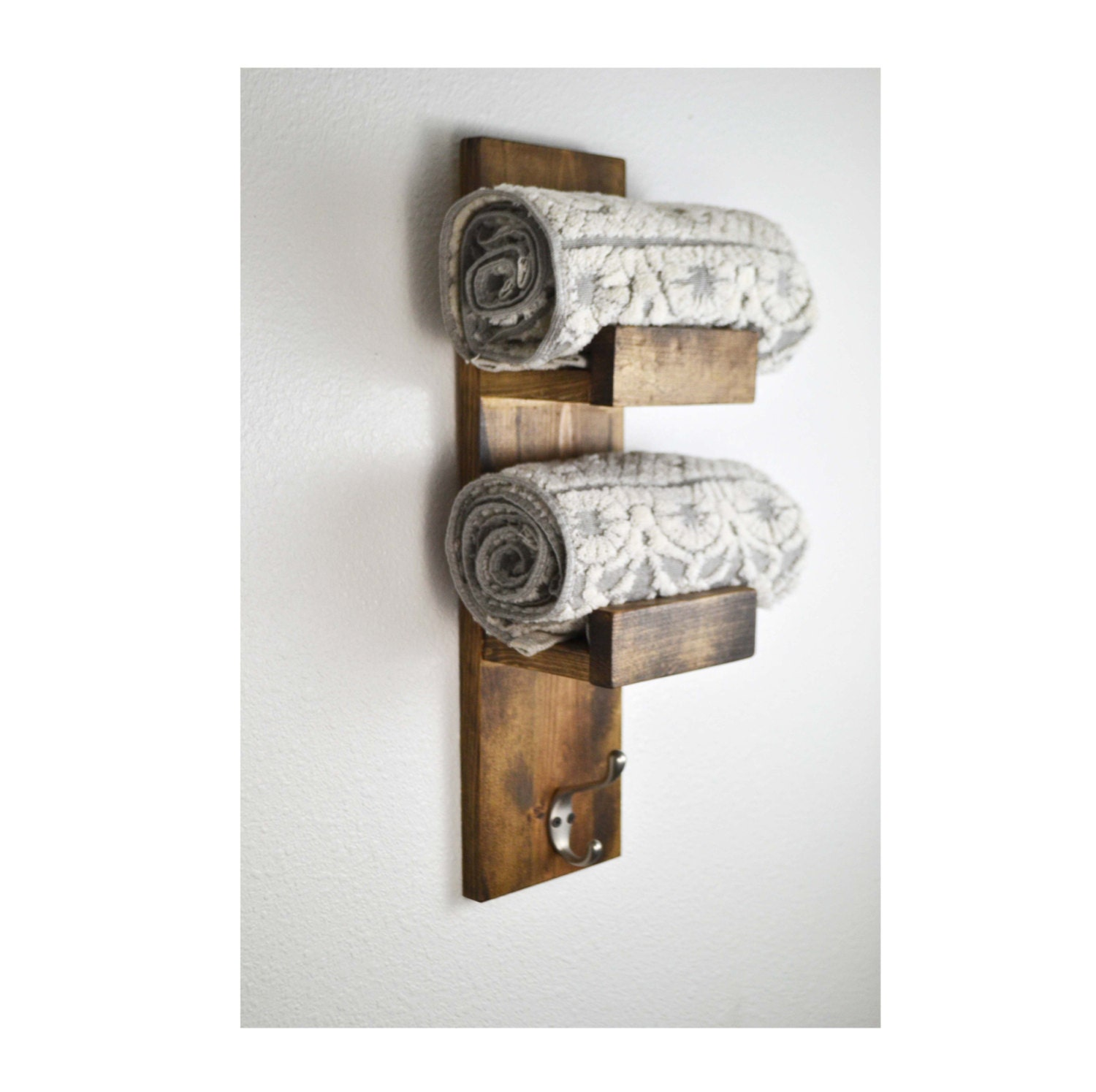 Kitchen Towel Hooks For Towels: Rustic Towel Rack Kitchen Rustic Kitchen Home By