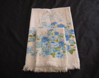 Floral Bath Towels Etsy