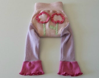 EXTRA Large, XL 100% Wool Cloth Diaper Cover, Upcycled Wool Soaker, Wool Longies