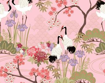 Japanese Garden in Pink
