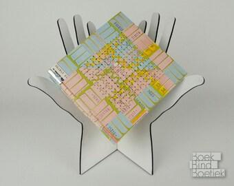 Woven Dutch Busticket Notebook Pastel [1103]