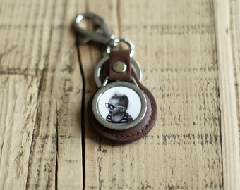 Custom Photo Key Chain