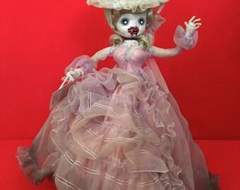 Dee Ville is a OOAK vampire art doll