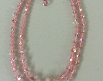 Vintage Crystal Necklace  #4