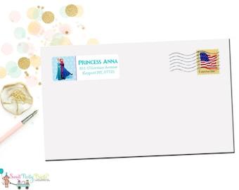 Frozen Address Labels ( SKU: FAL001 )