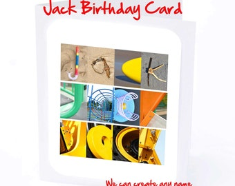Jack Personalised Birthday Card