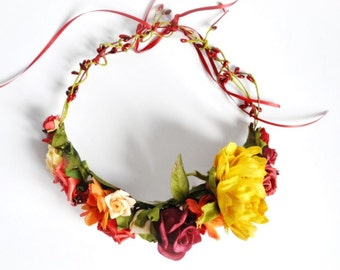 Autumn Lady Wreath