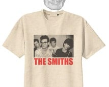 The Smiths Vtg Punk Rock Organic Cotton Tee Tshirt Vintage Look S M L