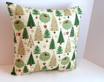 ON SALE! 18 x 18 Christmas Pillow Cover