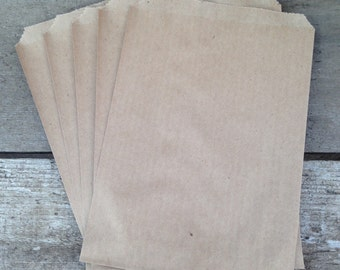 kraft bags / brown paper bags / kraft candy bags / kraft notion bags / kraft paper bags / renewable bags / recyclable bags
