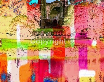 Bolton Abbey Yorkshire Dales No2 - Print Run of 100