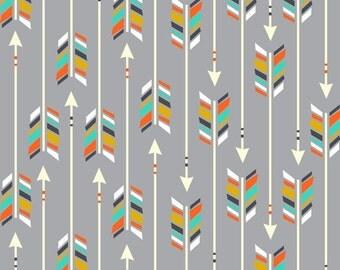 Tribal Grey Arrows - Nursery Linen