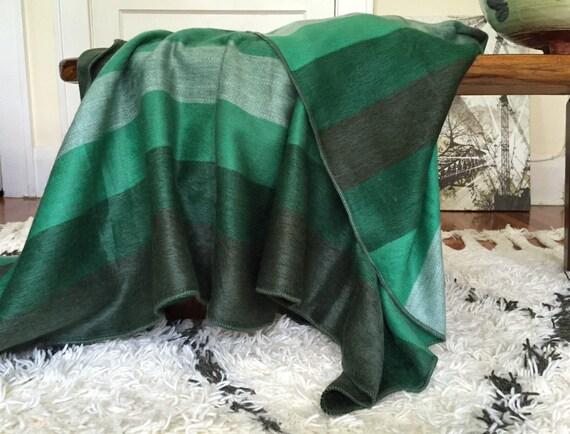 Emerald green alpaca throw blanket - Emerald green throw blanket ...