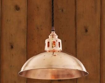 Berlin Vintage Copper Pendant Light