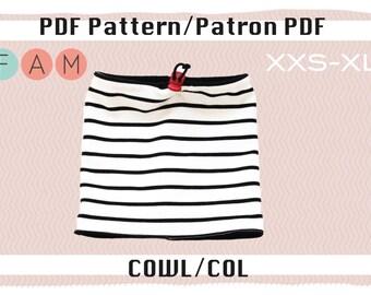 Cowl PDF pattern