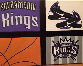 Sacramento Kings Painting