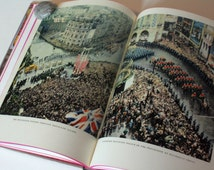 Elizabeth Crown Queen, The Coronation, 1953 UK Royal family Royalty collectible Book Vintage Old 1950s