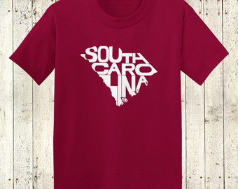 South Carolina Stately Kids Shirt