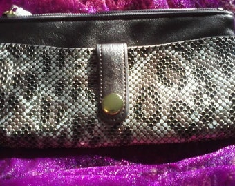 Whiting and Davis wristlet purse