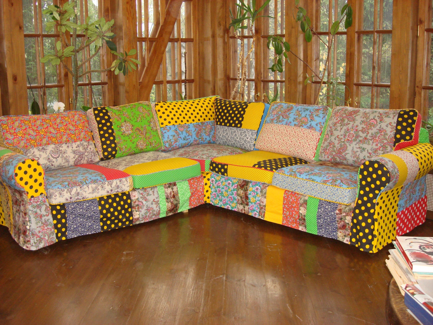 Modern furniture bespoke art accent sofa removable cover