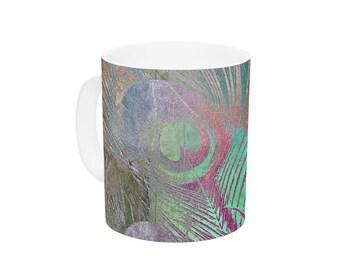 "Ceramic Coffee Mug - Alison Coxon ""Indian Summer""  Great Gift!"