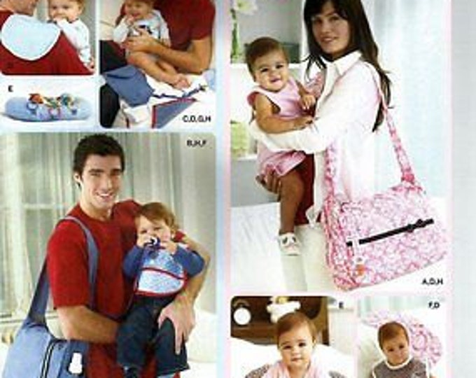 Simplicity - 2924 His and Hers Diaper Bags and Accessories - Sewing Pattern