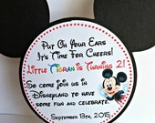 Mickey Mouse Invitation, Mickey Mouse Party Decorations, Mickey Mouse Birthday, Mickey Mouse Ears, Mickey Mouse Clubhouse, Mickey Mouse