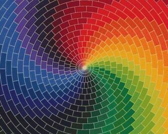 Colourful Swirl PDF Cross Stitch Pattern