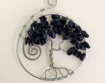 Black Jasper Tree of Life