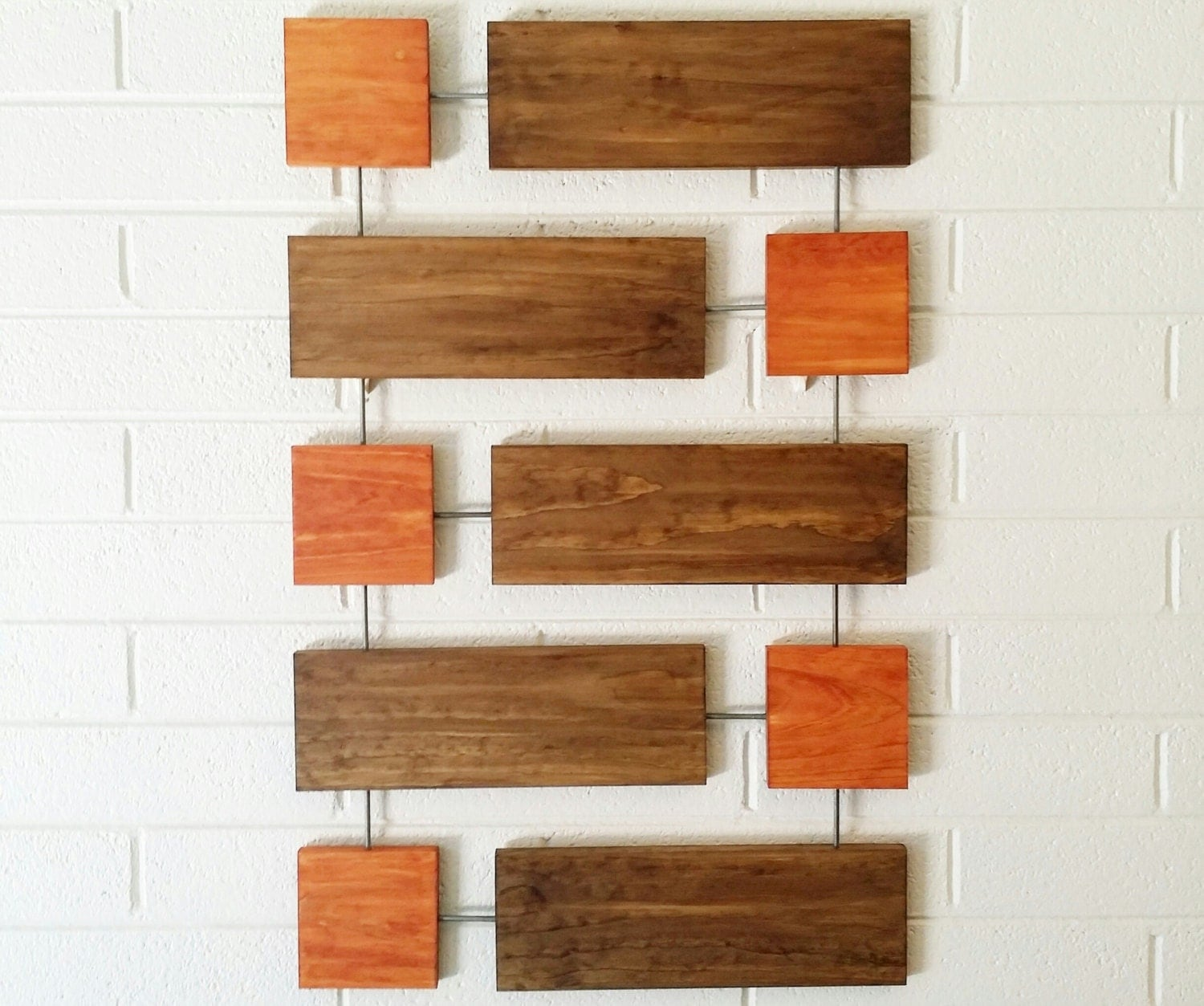 Contemporary Wood Wall Decor : Cy wall sculpture wood art mid century modern twombly