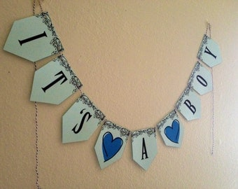 DIY - It's a BOY! Banner (Print it at home!)