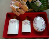 Just Reduced~Vintage Porcelaine De Paris France Vanity Set