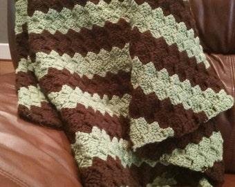 Crochet Throw/baby blanket