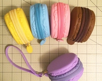 French Macaron Change Purse