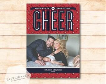 Spreading Holiday Cheer // Holiday Photo Card