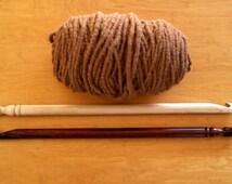 "Giant Crochet Hook Tunisian Crochet Big Stitch Crochet 25 MM Size U 24"" Crochet Hook Crochet Rugs Blankets Crafts"