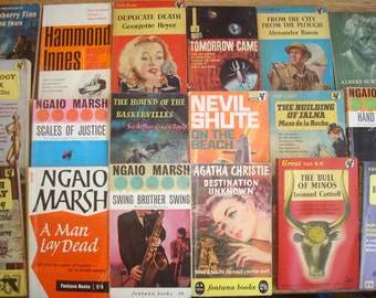Set of 100 Vintage 1950s & 1960s Paperbacks.  Good condition or better.