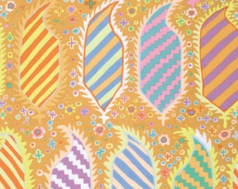 Kaffe Fassett Collective Striped Herald Gold - 1/2yd