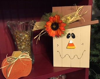 Wooden Fall Scarecrow