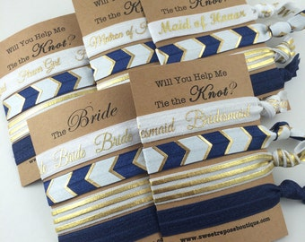 bridesmaid proposal, bridesmaid card, bridesmaid gift, will you be my bridesmaid, bachelorette party, Thank you for helping me tie the knot