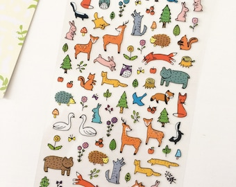 Forest Critters Stickers / Planner Stickers