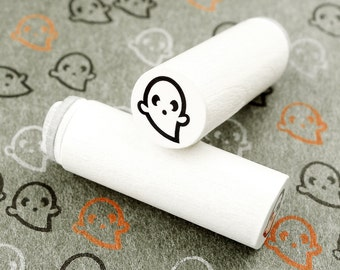 Ghost Boo - mini stamps/Lüttje stamp Ø 1,1 cm