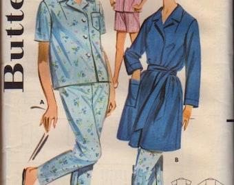 Butterick Pattern 2197 Misses Sleepwear  Size 18
